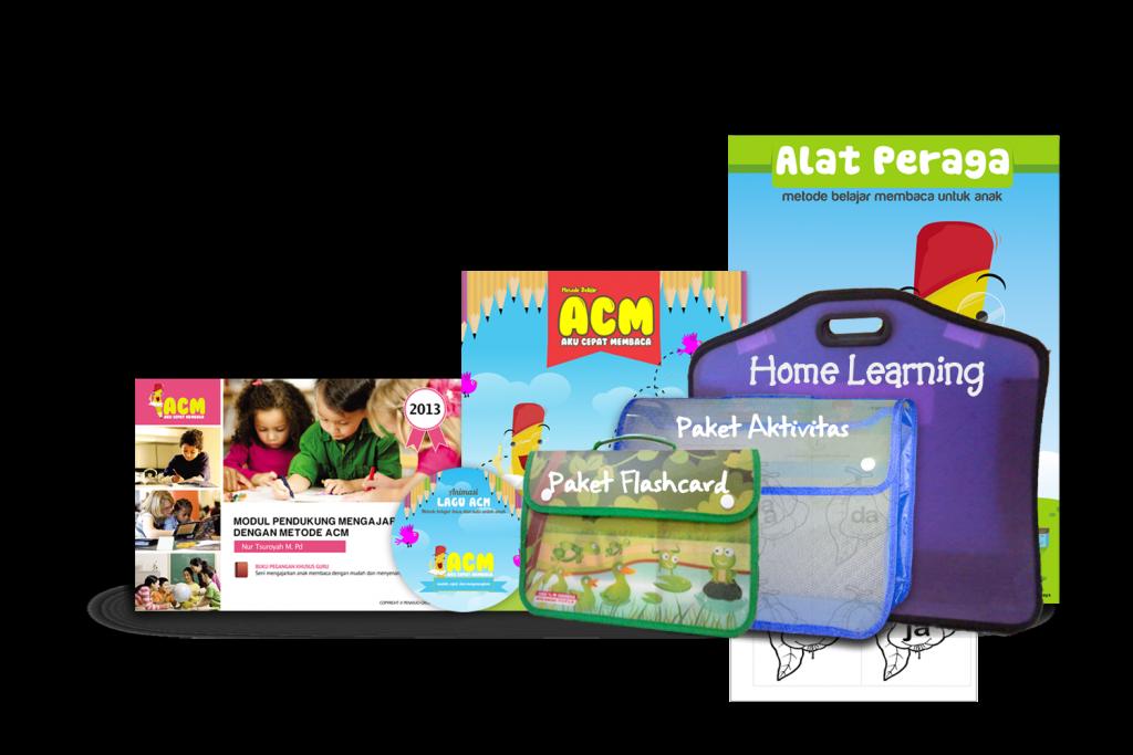 Paket Lengkap Home Learning Belajar Cepat ACM