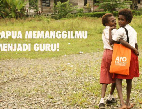 Tingginya Buta Aksara di Papua : Hukum Karma Buat Guru