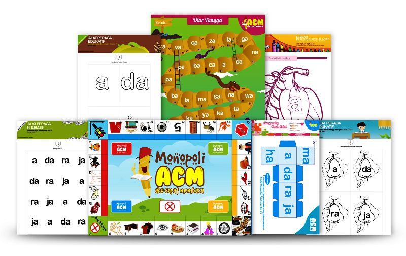 paket aktivitas metode belajar membaca