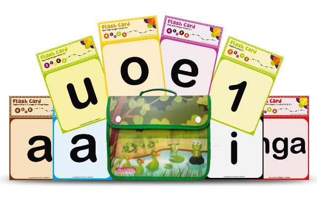 Flashcard Belajar Membaca