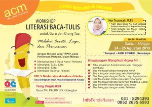 Pelatihan Literasi Baca Tulis