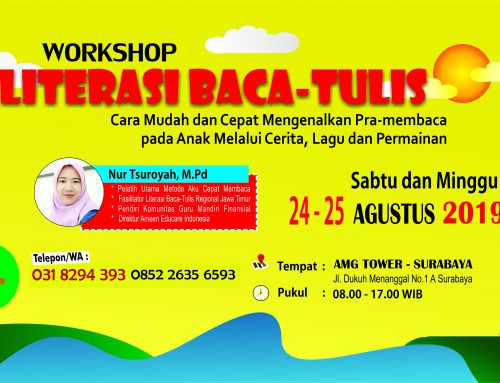 WORKSHOP LITERASI BACA-TULIS GRATIS