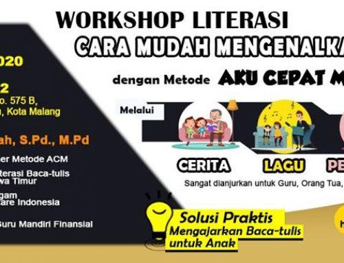 Workshop Literasi Baca Tulis Malang & Sekitar