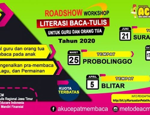 Roadshow Workshop Literasi Baca Tulis