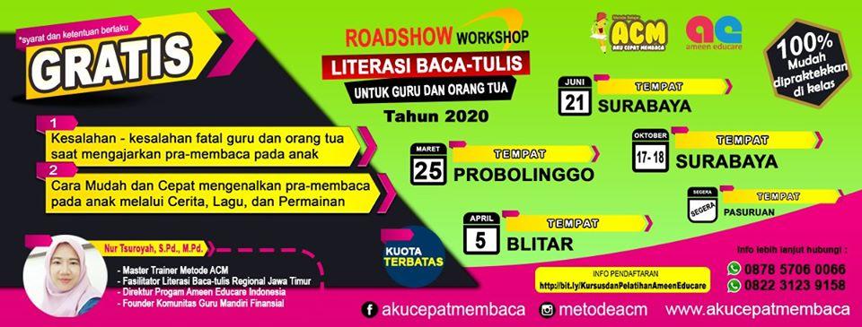 Roadshow Literasi Baca Tulis