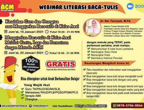 Webinar Literasi Baca Tulis