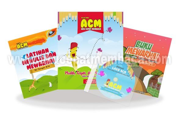 Buku Belajar Membaca untuk Anak Metode ACM Paket 2